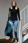Ali Larter out in tight jeans in Los Angeles 04/04/14