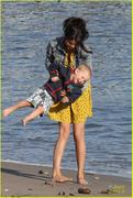 th 32458 Selenatag6 123 190lo Selena Gomez   hanging with family at a beach in Malibu 02/17/12