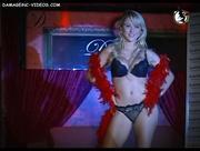 Mariquena vestida para el burlesque