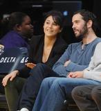 Эммануэль Шрики, фото 1682. Emmanuelle Chriqui attends the Los Angeles Lakers vs. Memphis Grizzlies NBA game in LA - 08.01.2012, foto 1682